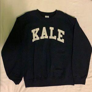 gildan kale sweatshirt size s
